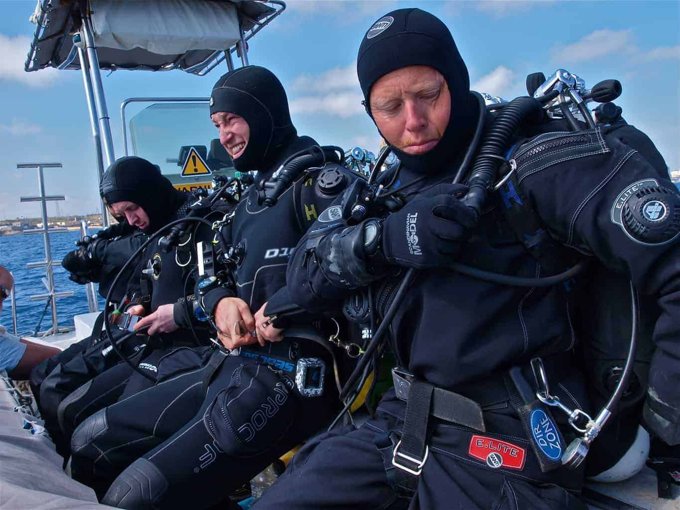 Andrew Tonge is an experienced technical diver and instructor
