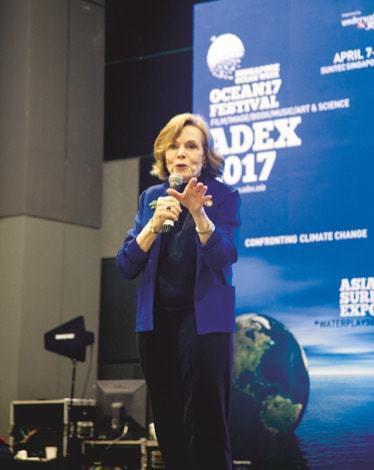 ADEX Conservation talks Sylvia Earle