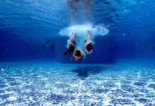 Is it safe to scuba dive while taking antidepressants?