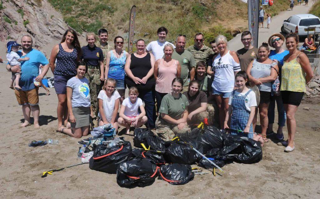 Morrisons Fathoms Free beach clean