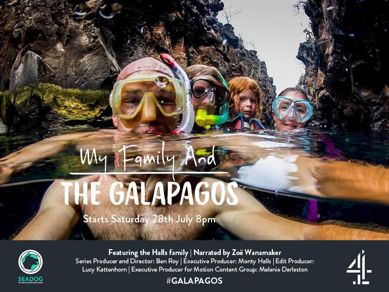 My Family and the Galapagos TX Card 2