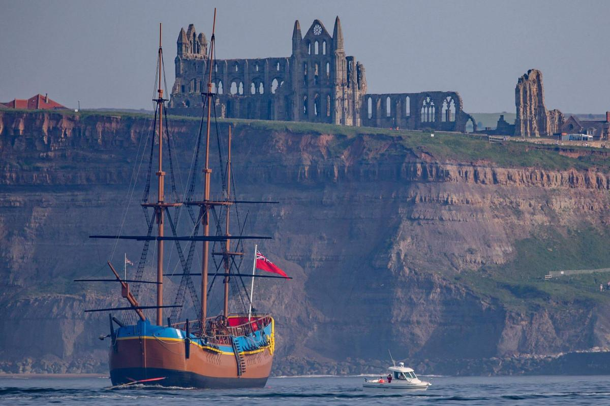 Captain Cook's HMS Endeavour found off Newport, Rhode Island
