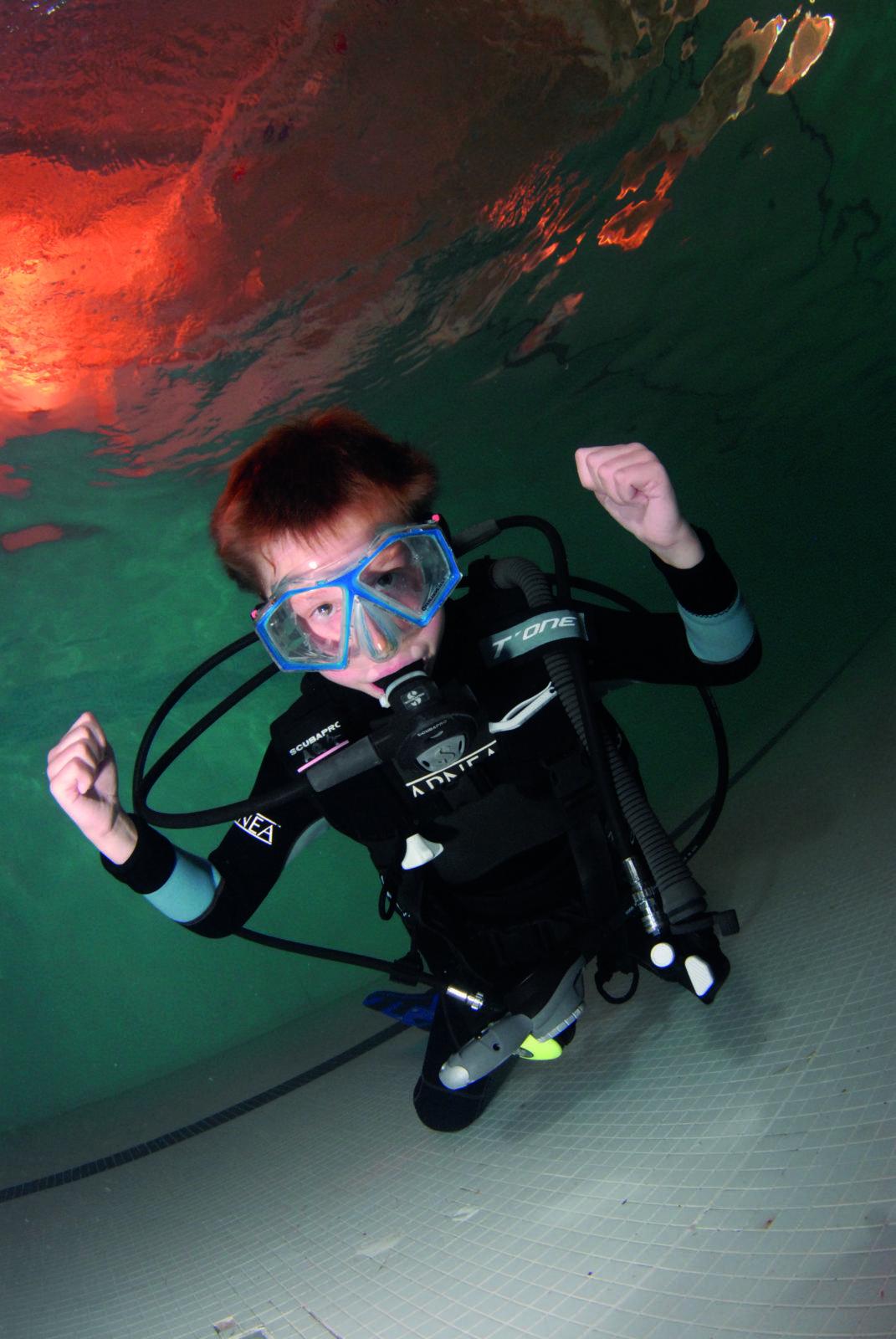 Sponsored Kilometre Underwater by Jeremy Cuff