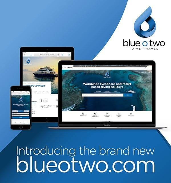 blue o two new website