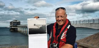 RNLI Pin Ups Help Make Photographic History