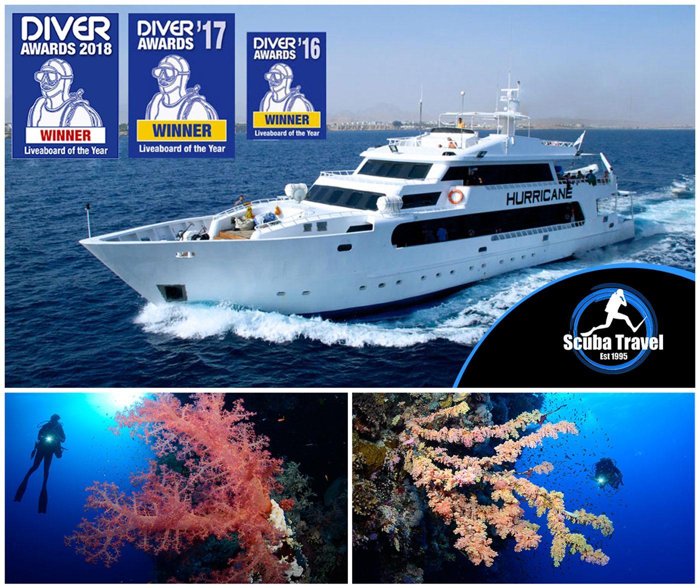 Scuba Travel, Red Sea, Hurricane,