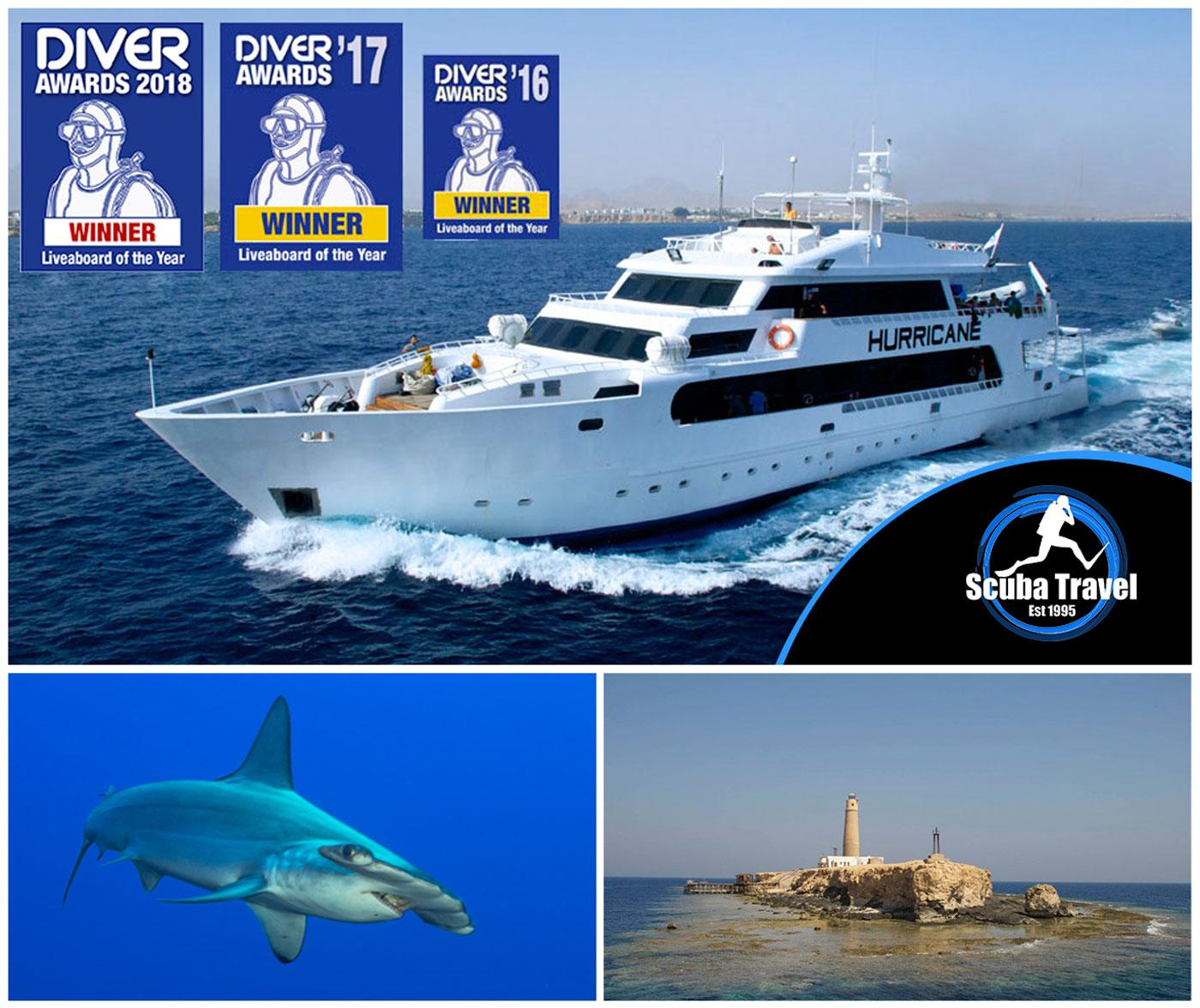 Scuba Travel, Simply the Best, Hurricane,Egypt, Red Sea