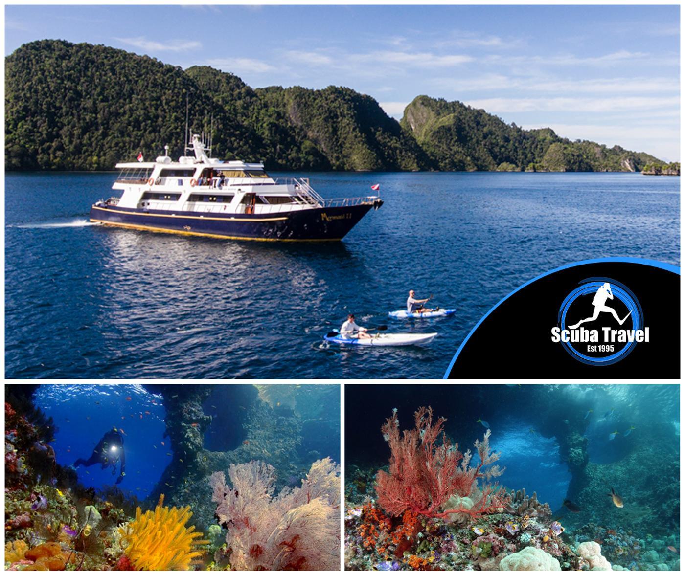 Scuba Travel, Indonesia, Mermaid2, Raja Ampat