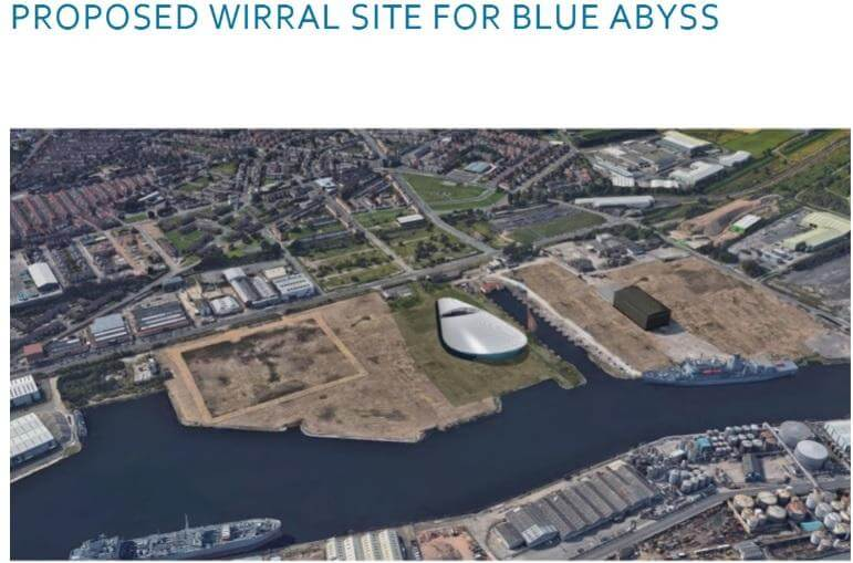 Proposed Wirral Site for Blue Abyss