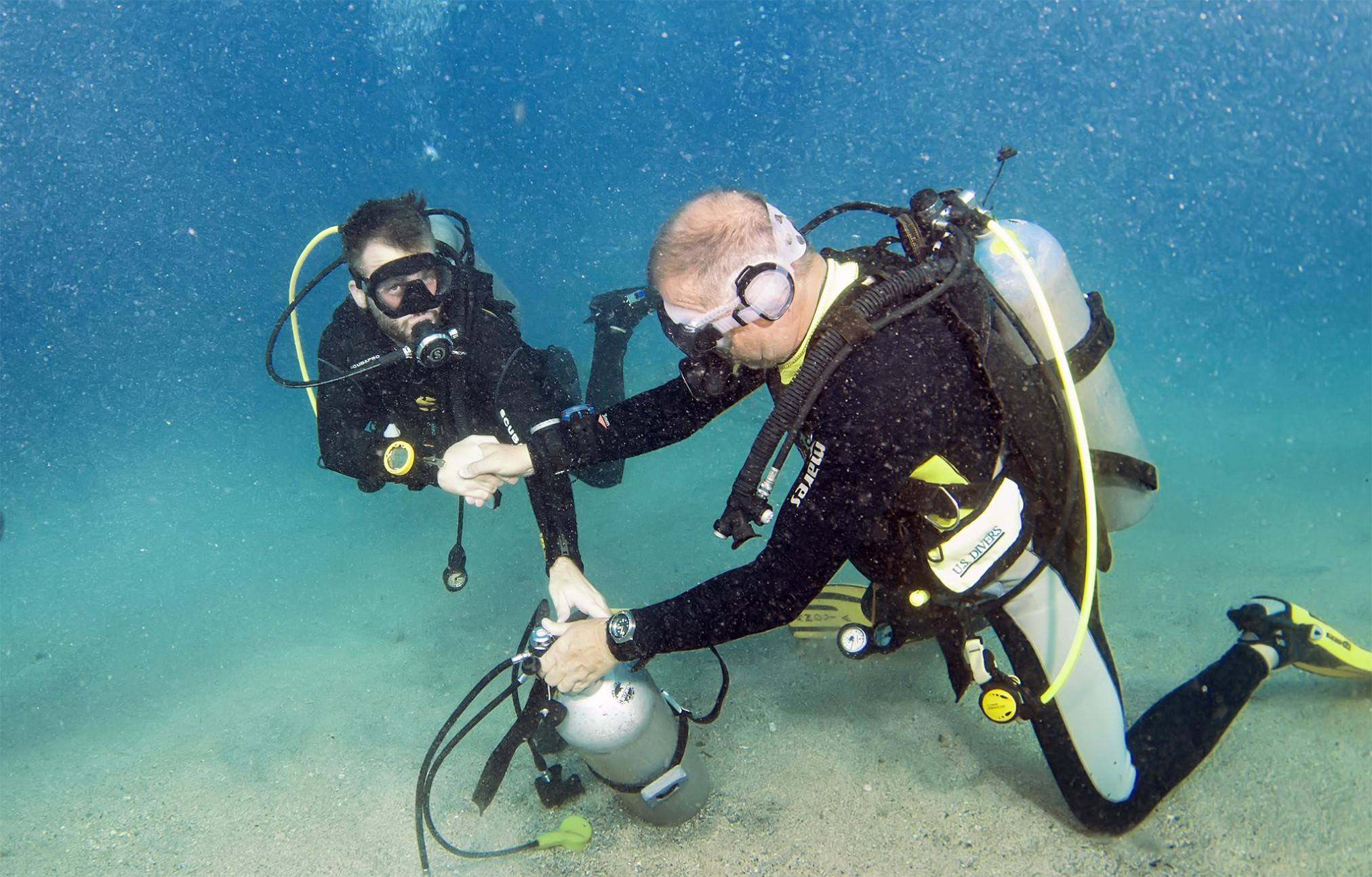 Deptherapy 24 hour dive