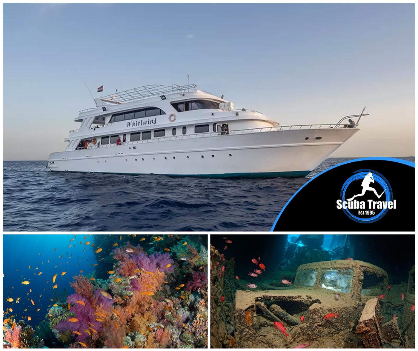 Scuba Travel, Red Sea, Whirlwind, Wrecks and Reefs