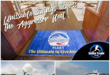 Scuba Travel, Aggressor fleet