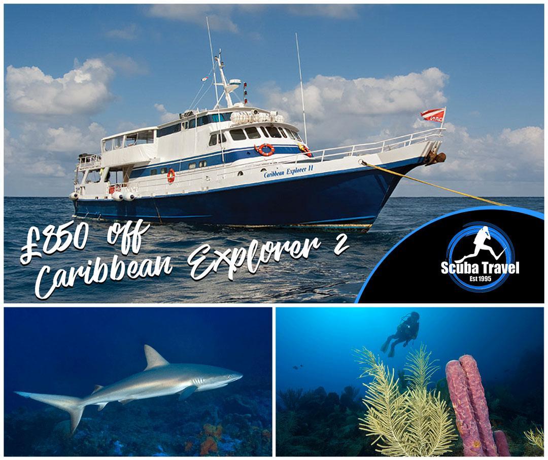 Scuba Travel, Caribbean Explorer 2, Saba and St Kitts