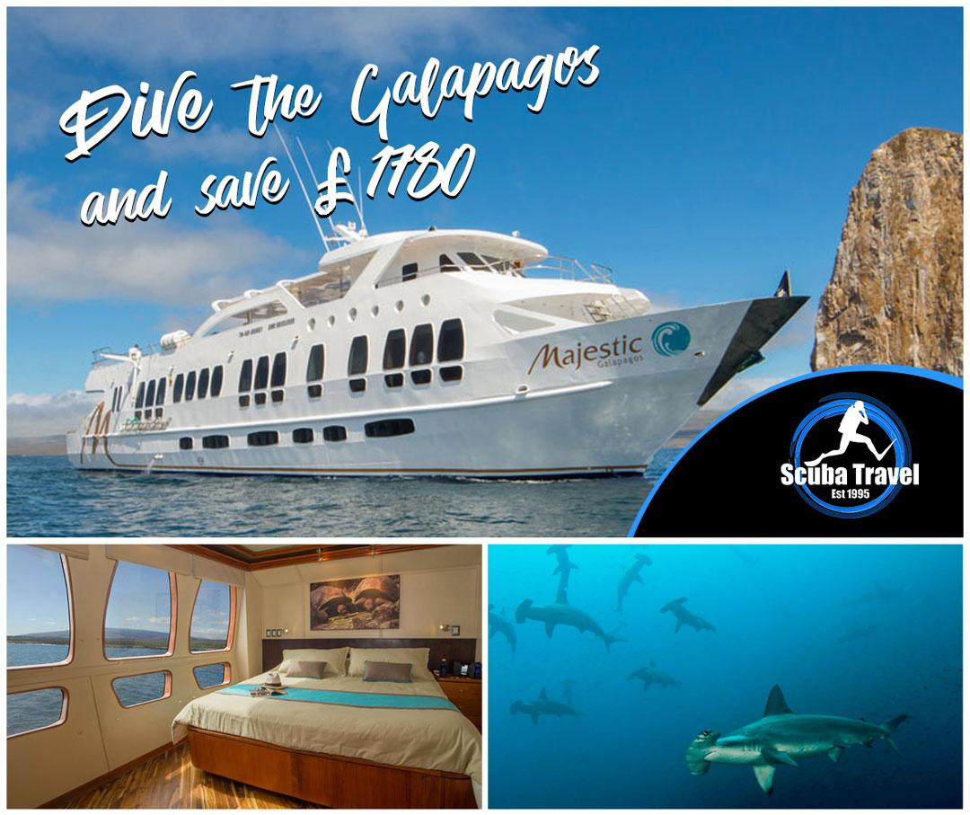 Scuba Travel, Majestic Explorer, Galapagos