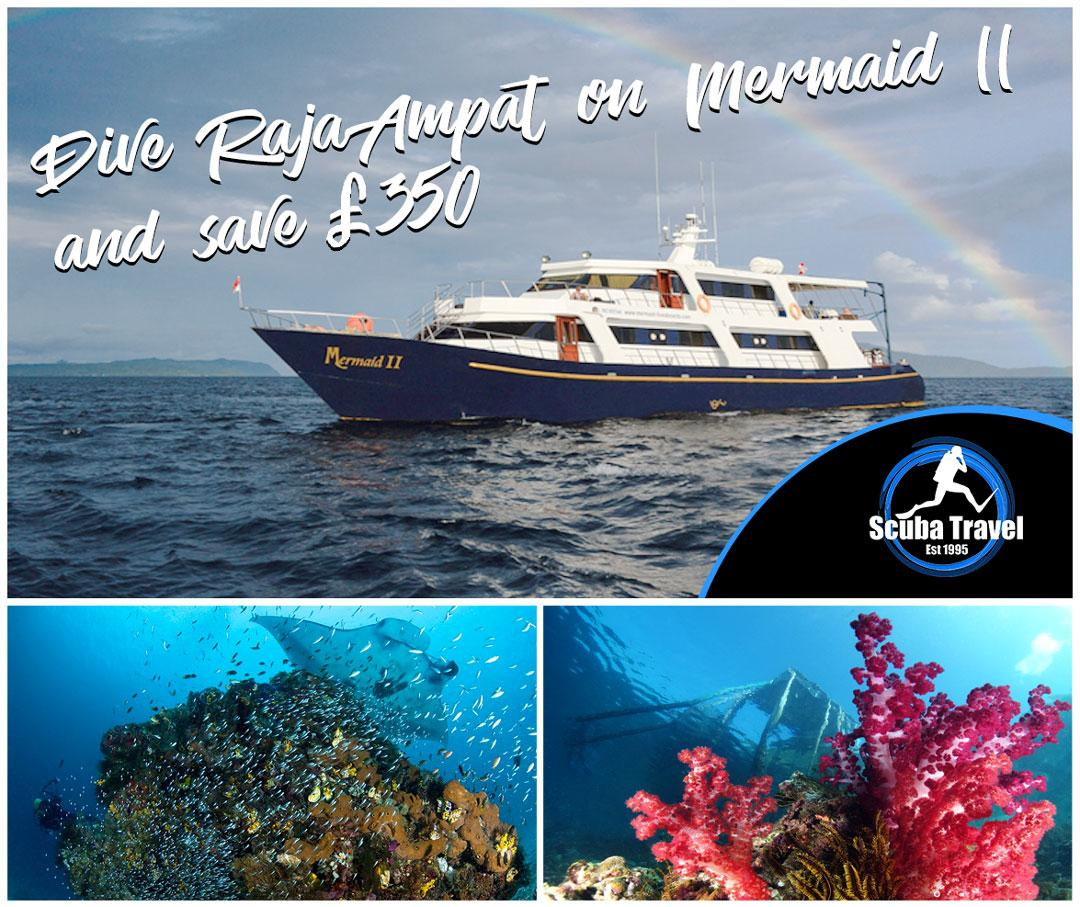 Scuba Travel, Indonesia, Raja Ampat, Mermaid 2