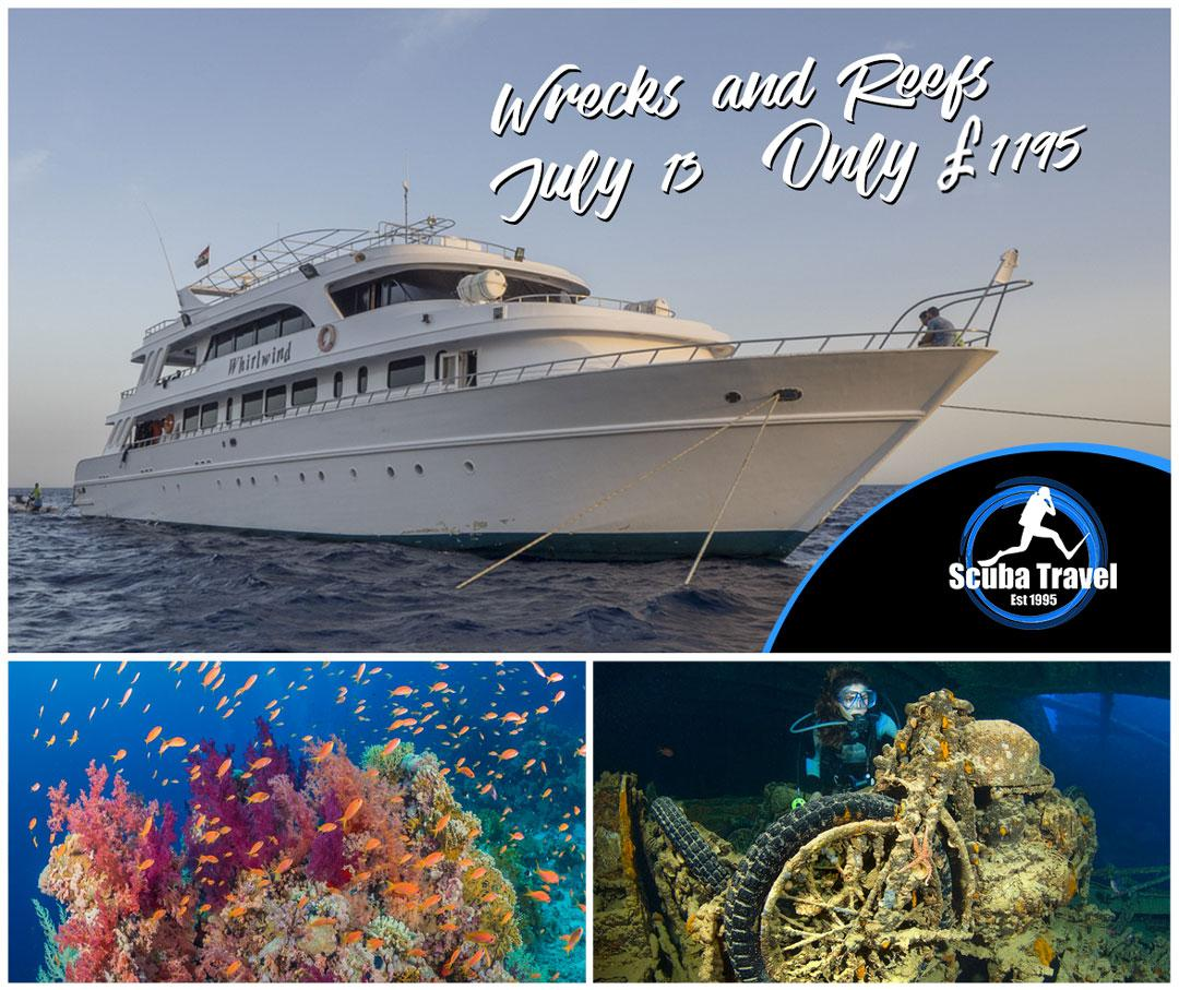 Scuba Travel,Whirlwind, Red Sea, Wrecks and Reefs