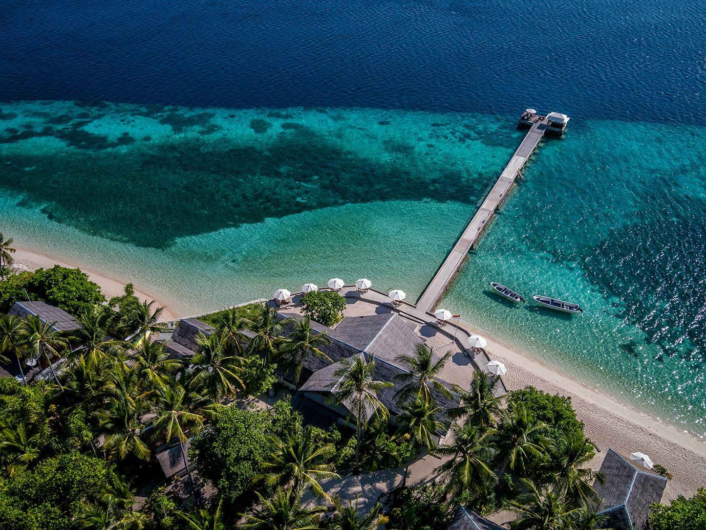 Wakatobi house reef
