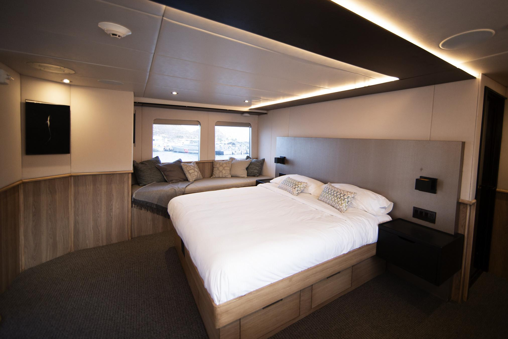 Master Suite on board Socorro Vortex
