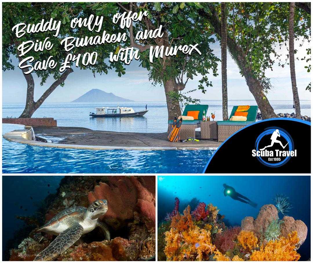 Scuba Travel, Murex Resort, Indonesia