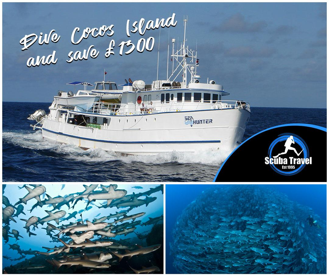 Scuba Travel,Sea Hunter,Cocos Island