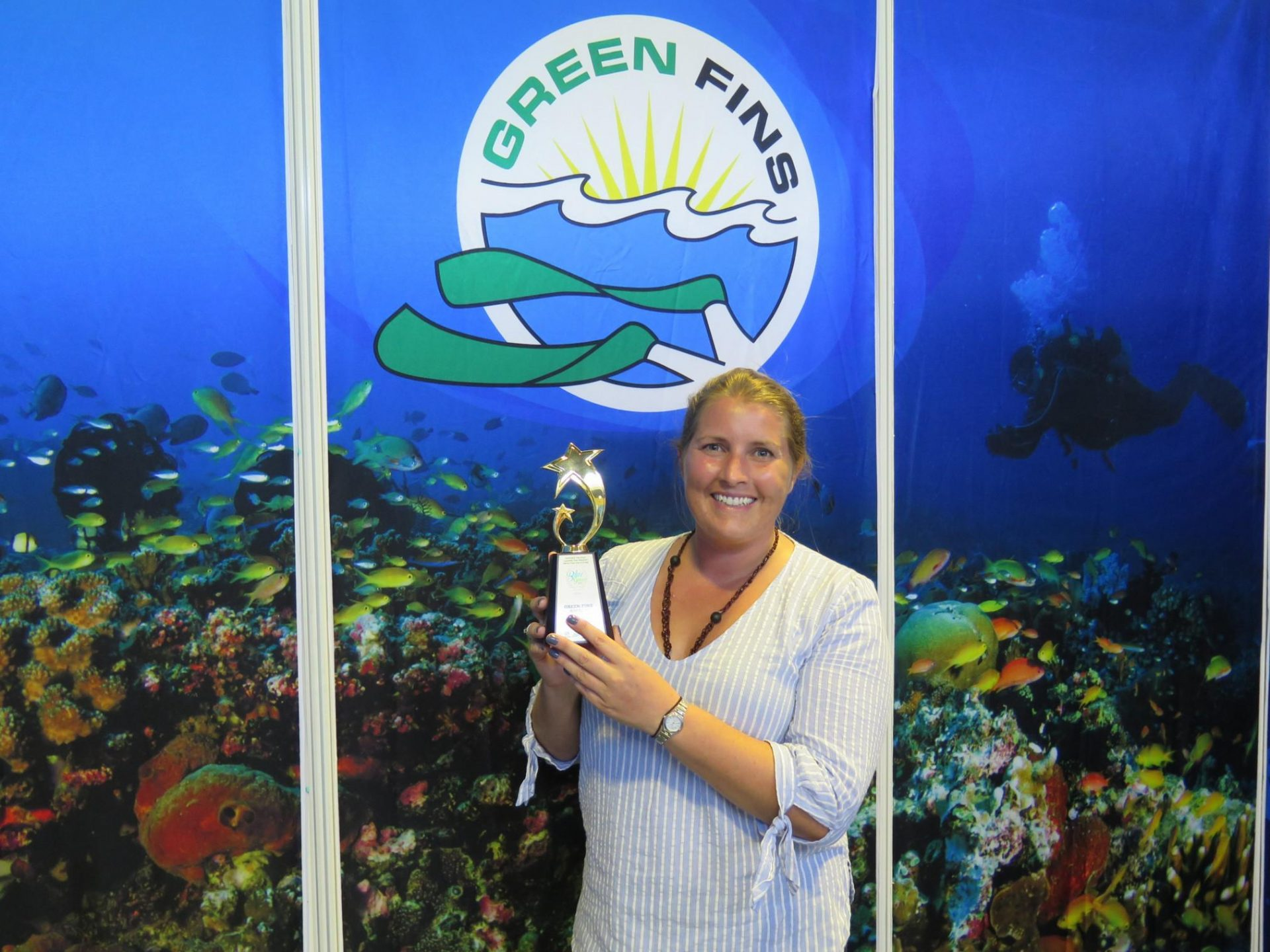 Tioman Dive Centre wins Green Fins Award 2019
