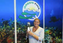 Tioman Dive Centre wins Green Fins Award 2019