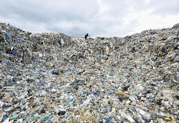 War on Plastic - Mountains of plastic waste dumped in Malaysian jungle 1