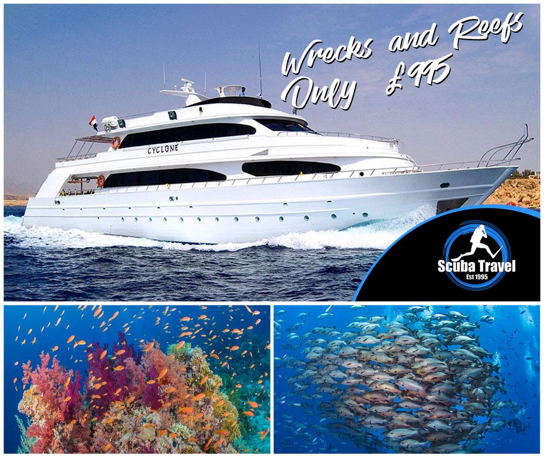Scuba Travel, Cyclone, Egypt, Red Sea,