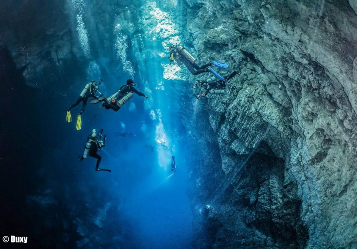 Cenote Angelita Scuba Diving