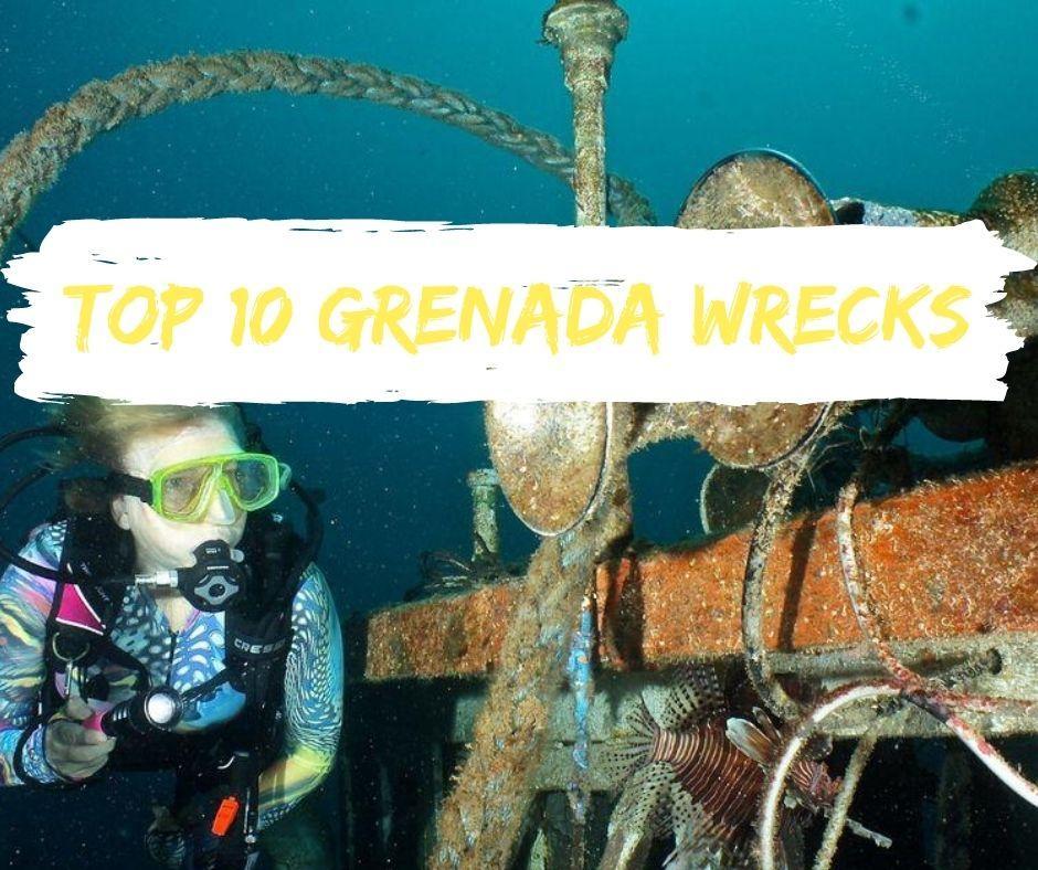 Top 10 grenada wrecks