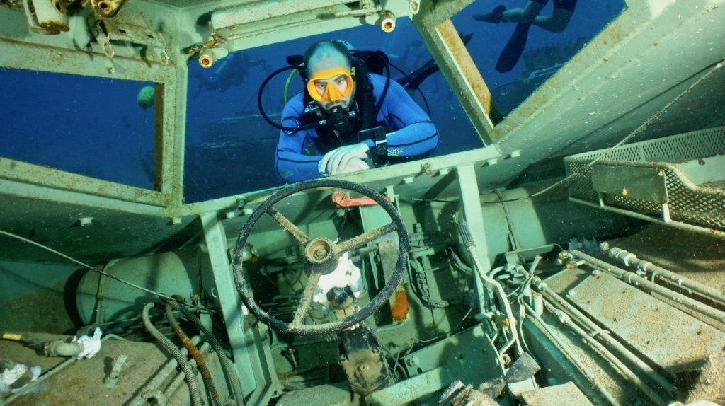 MARK EVANS: Aqaba's Underwater Military Museum