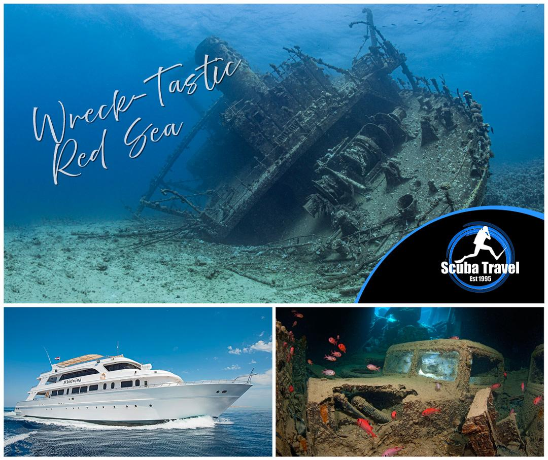 Scuba Travel, Whirlwind, Red Sea, Egypt, Get Wrecked