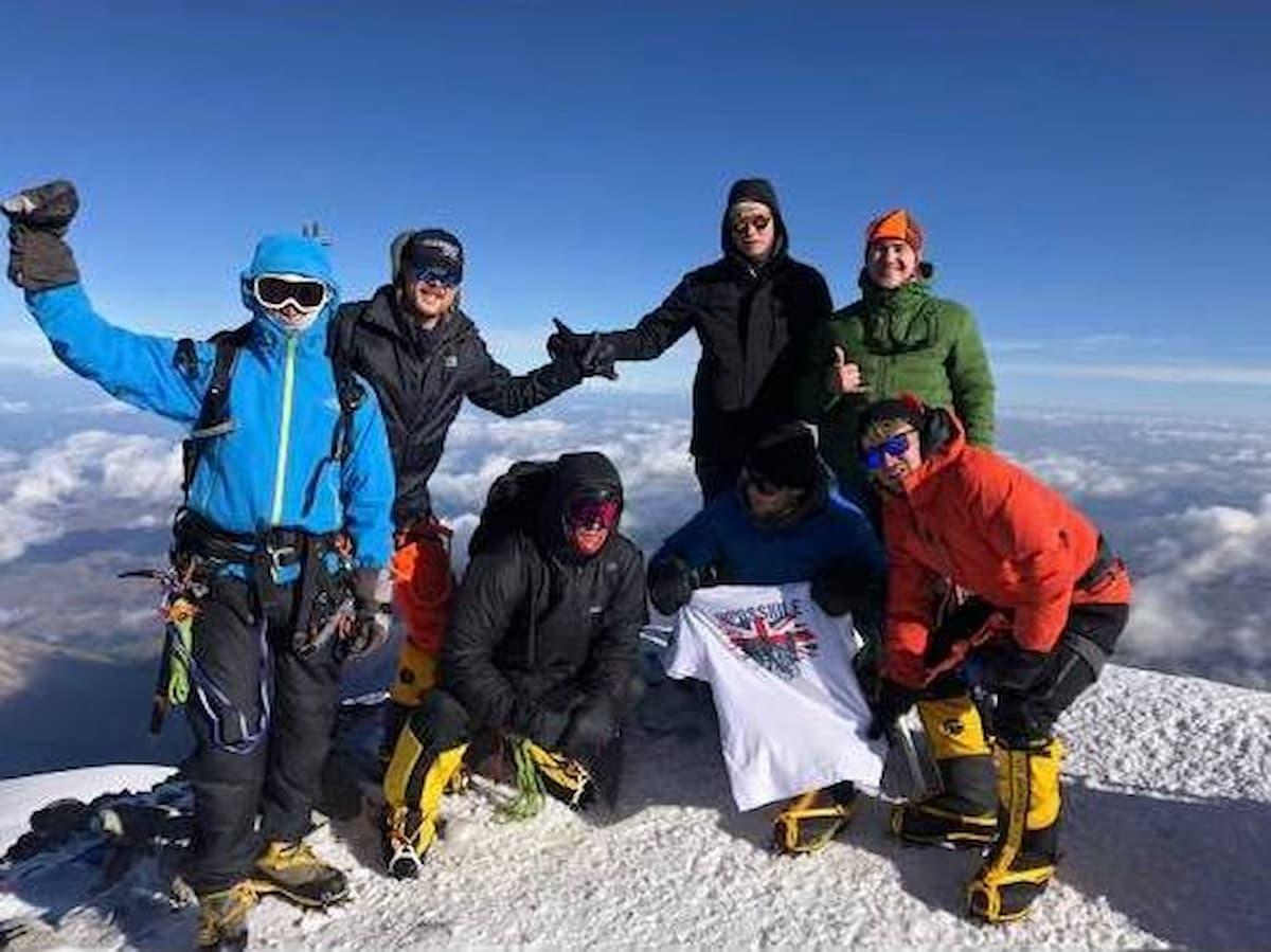 Deptherapy Mount Elbrus
