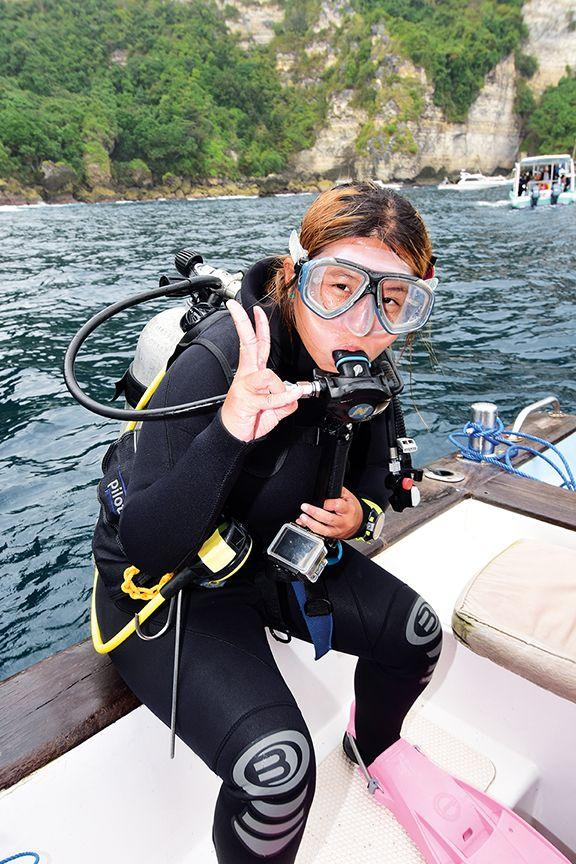 Zac had become both a teenager and a PADI Junior Advanced Diver with around 100 dives under his belt
