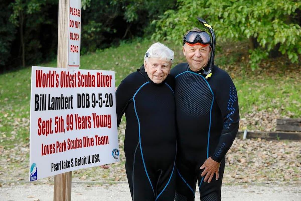 Bill Lambert Worlds Oldest Scuba diver