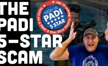 PADI 5 Star Scam