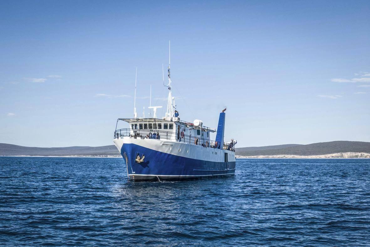 Rodney Fox Boat