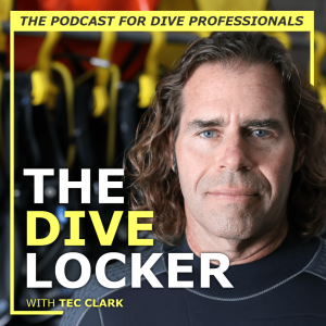 Tec Clark welcomes you into The Dive Locker podcast 2