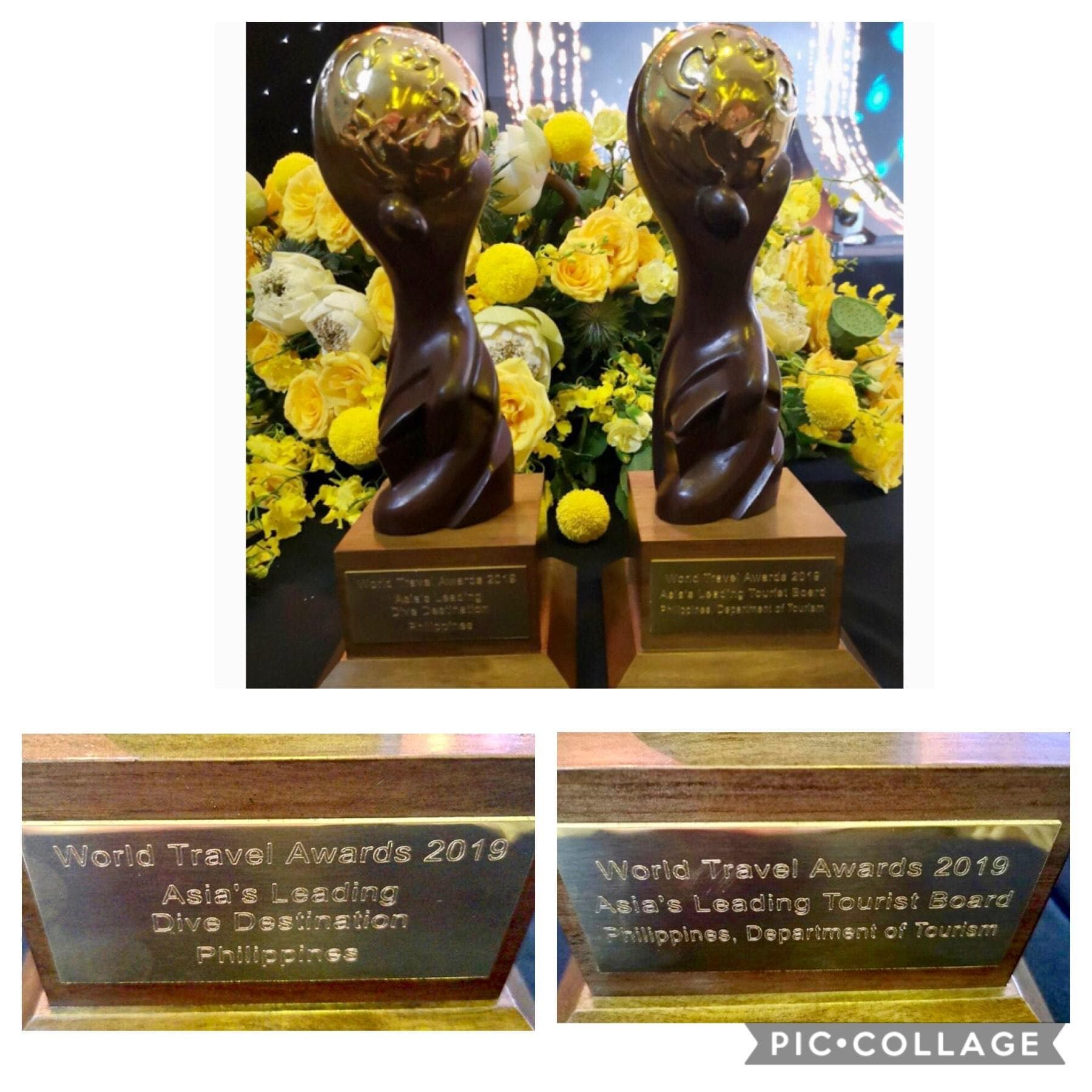 World Travel Awards 2019 Trophy