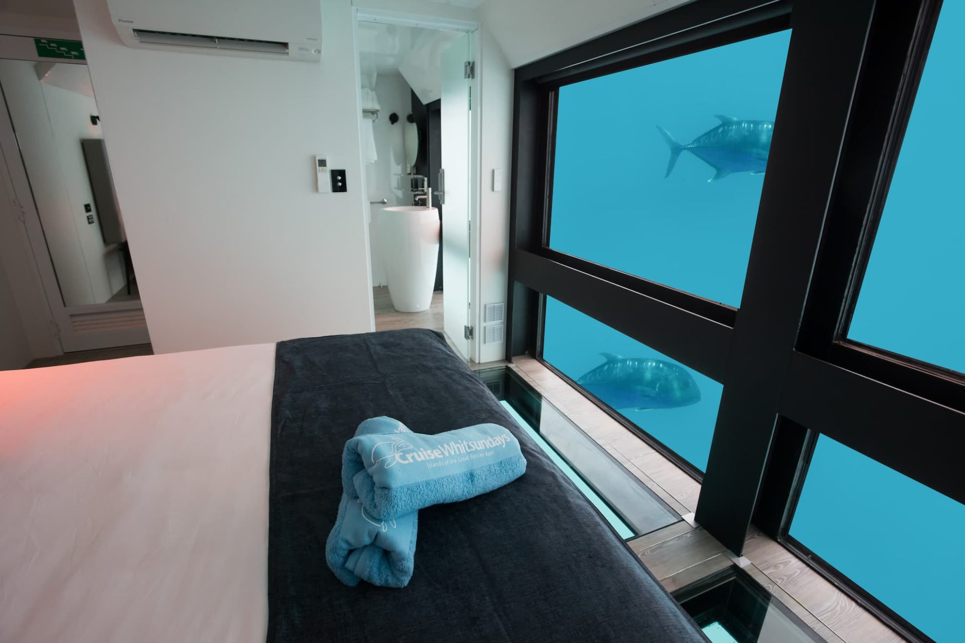 Australia's Great Barrier Reef hosts underwater hotel's reef suites
