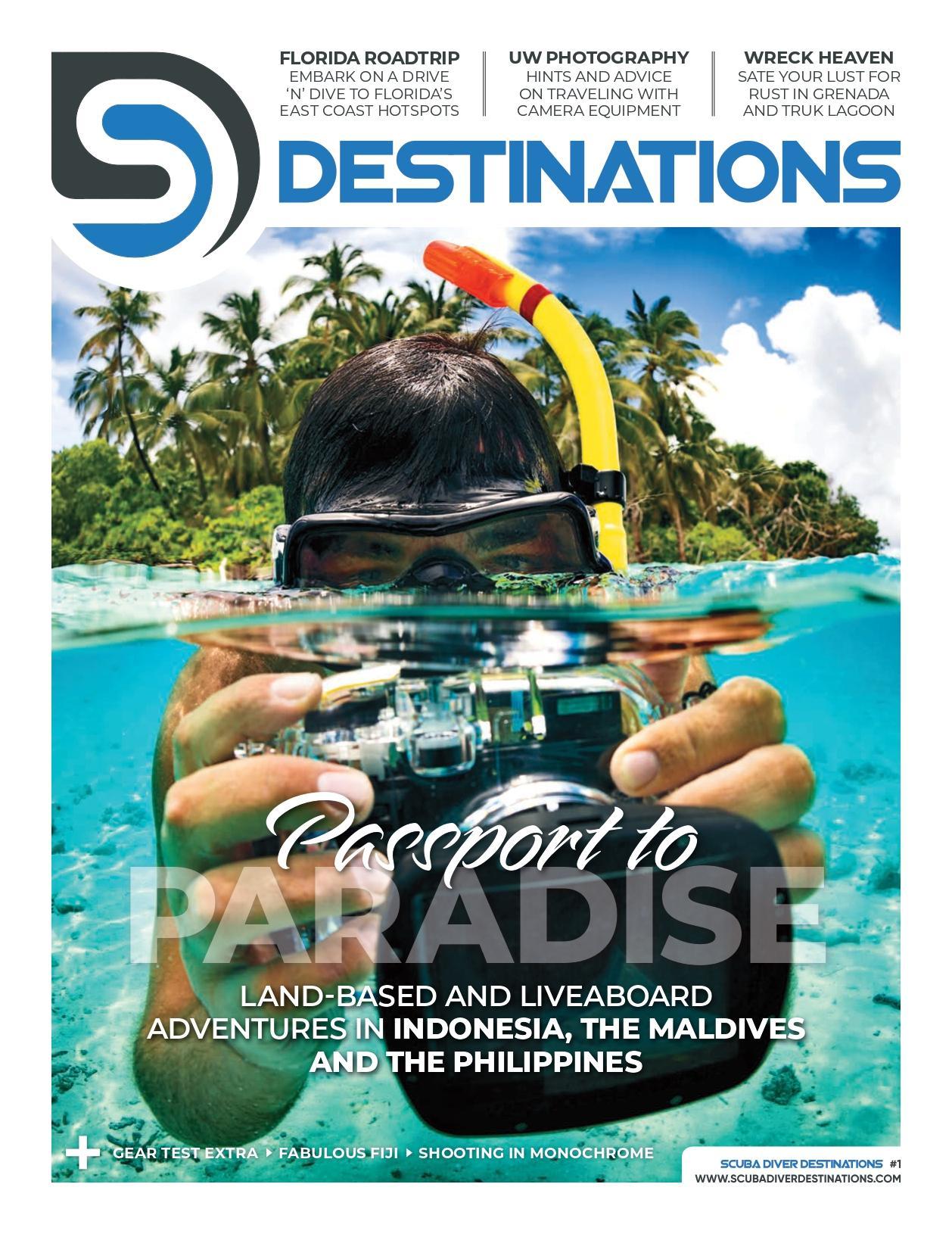 Scuba Diver Destinations