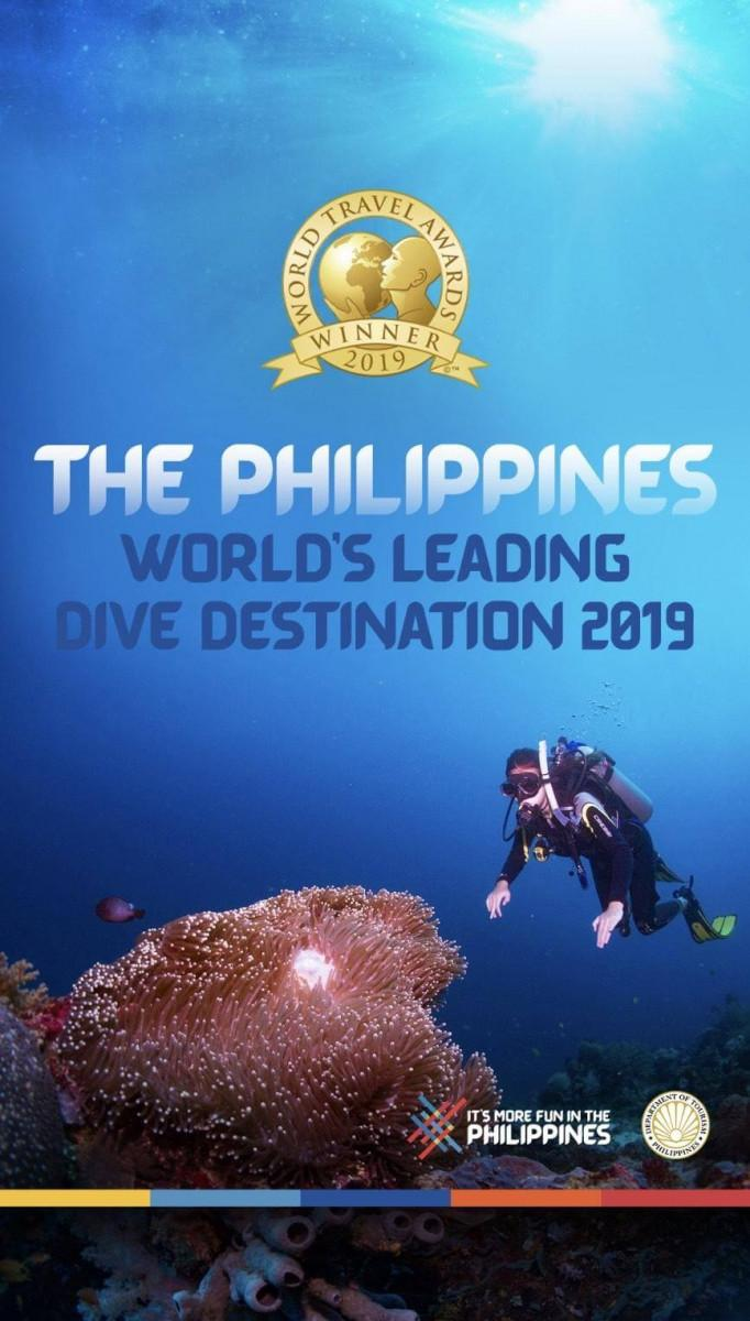 The Philippines is named the World's Leading Dive Destination