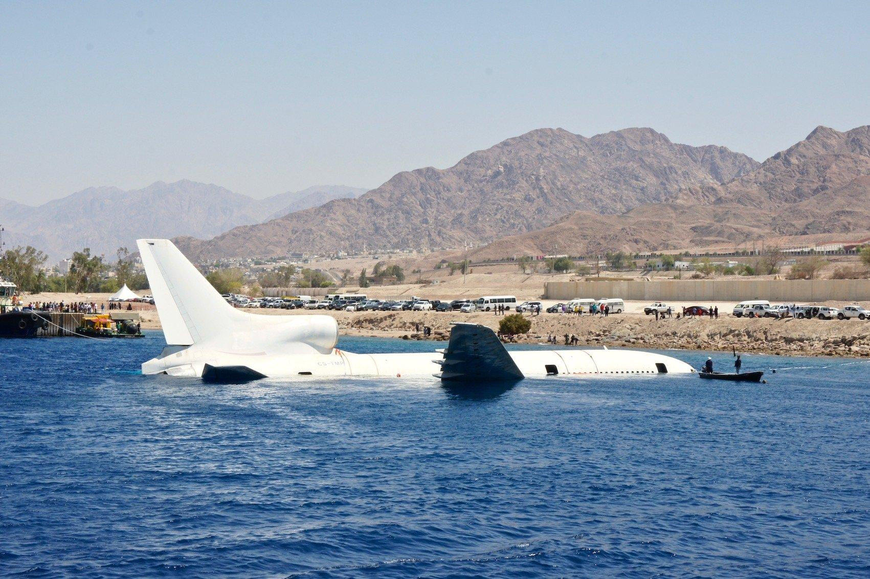 Lockheed TriStar joins Aqabas Underwater Military Museum