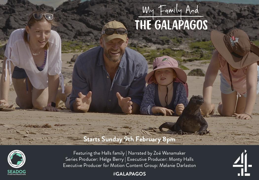 My Family and the Galapagos 1