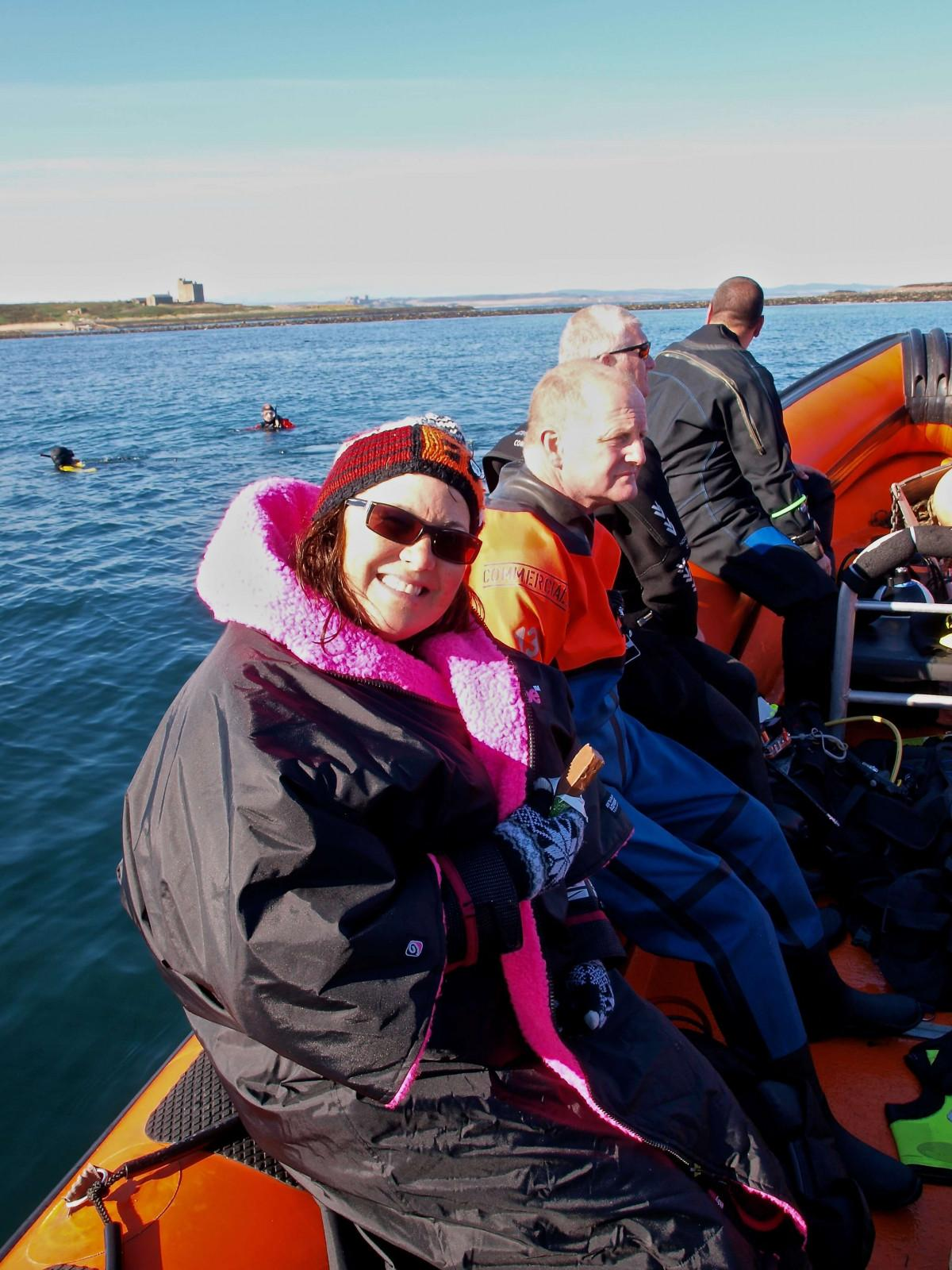 Arrival at Farne Islands as an Individual
