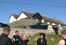 Dive Briefing at Porth Bafarch
