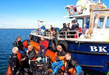 Farne Islands dive briefing