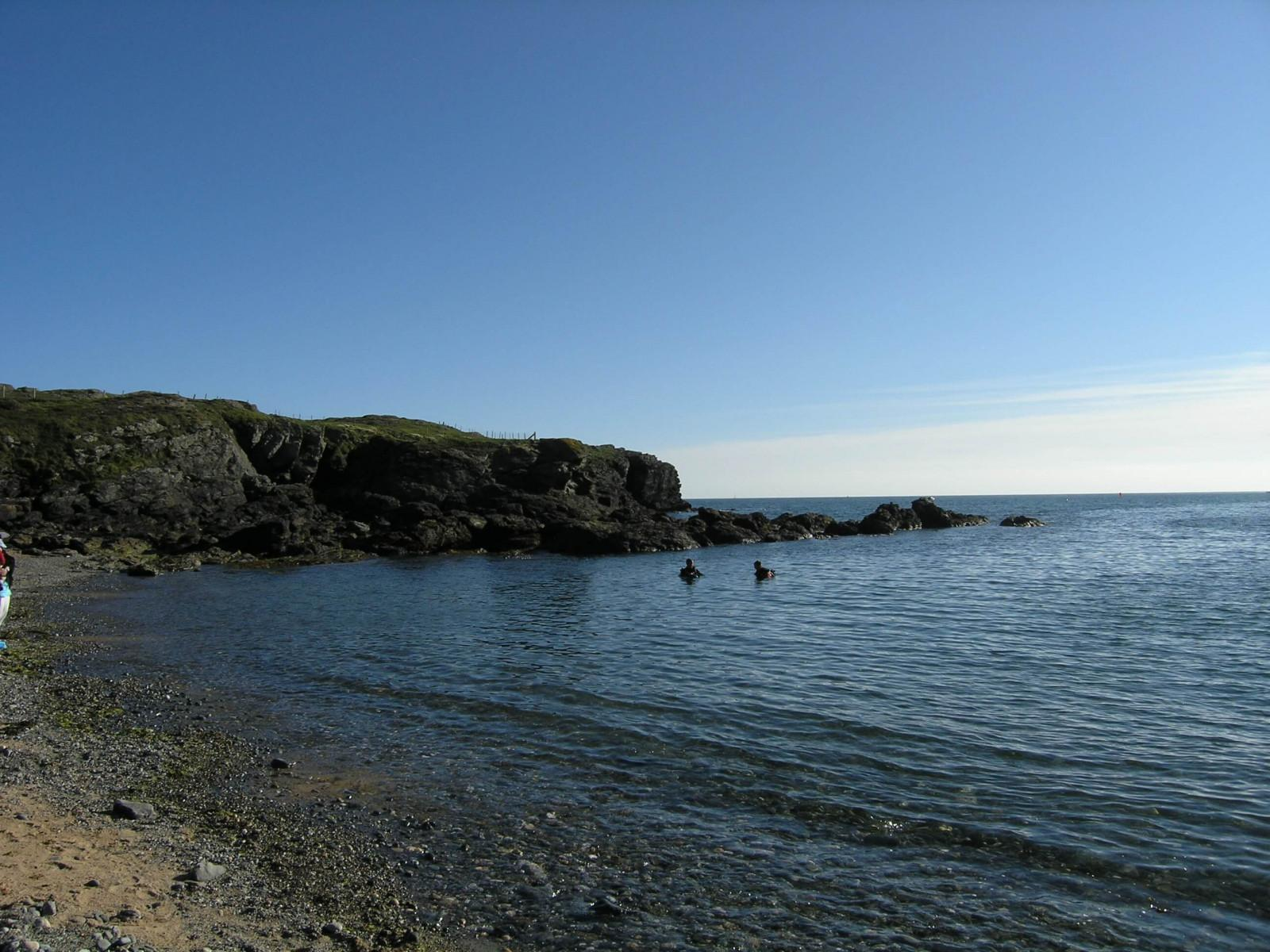 Porth Dafarch, west coast of Anglesey in North Wales