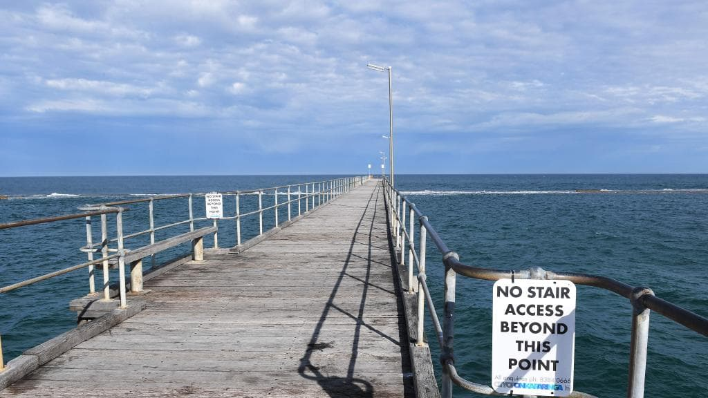 New Port Noarlunga Jetty Stairs Installed