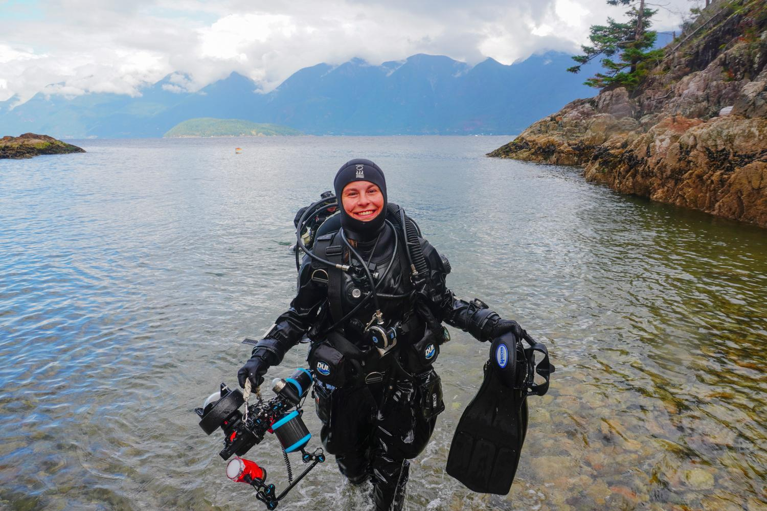 Diving The Pacific Coast of Canada and the USA